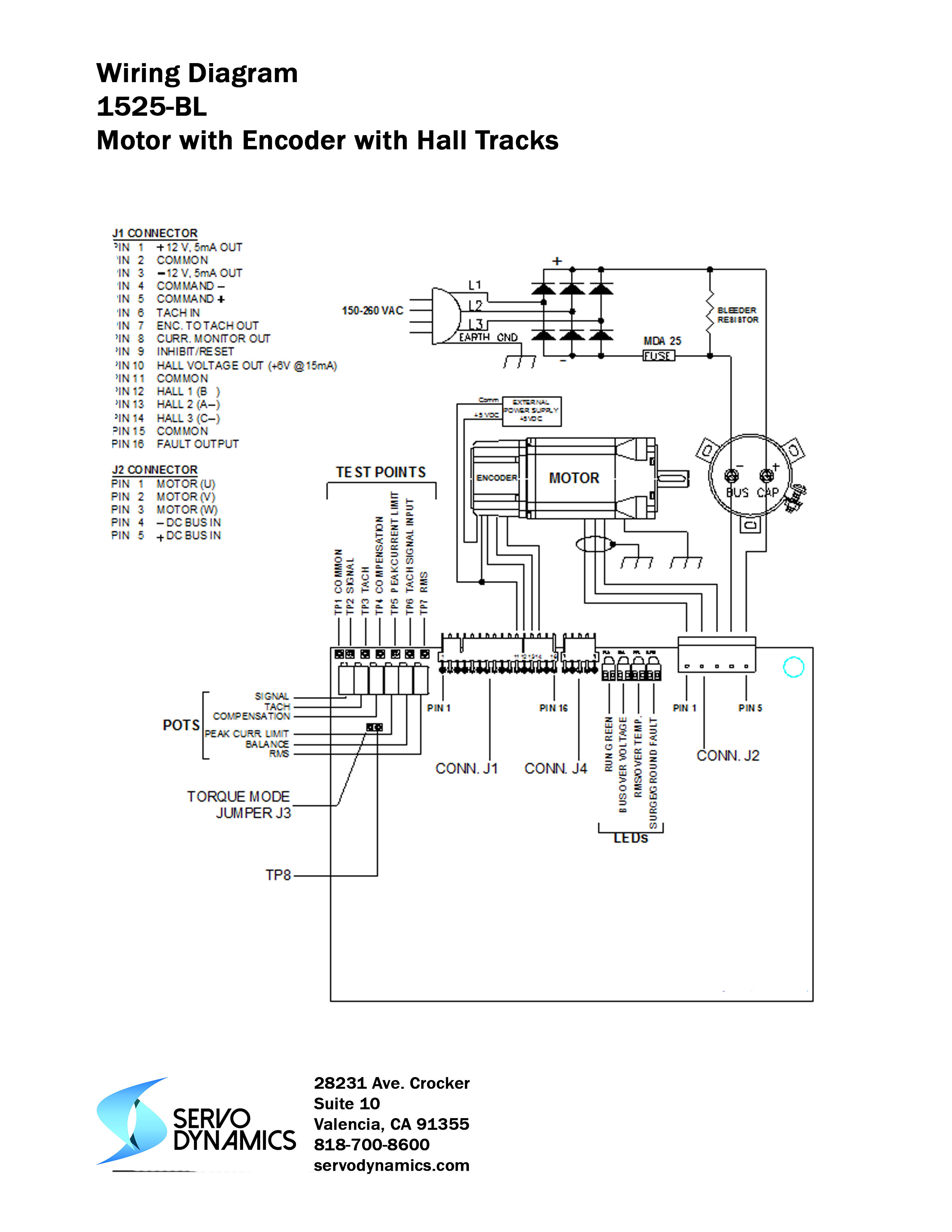 Terrific Servo Wire Diagram 6 Wiring Library Wiring Digital Resources Remcakbiperorg